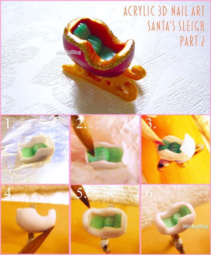 Acrylic 3D Sleigh Part 2