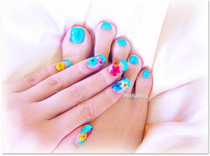 Dry Flower Manicure