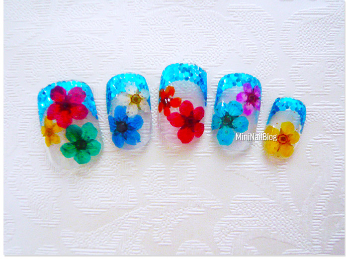 Dry Flower Manicure