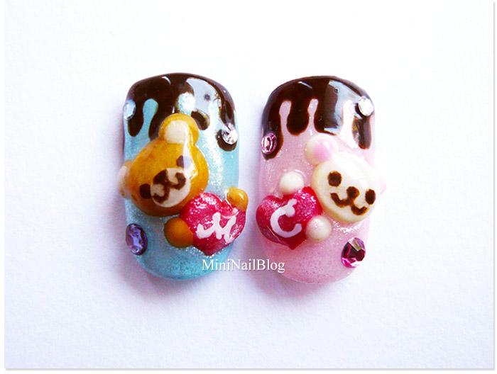 Valentine's Day Nail Art Idea 2011