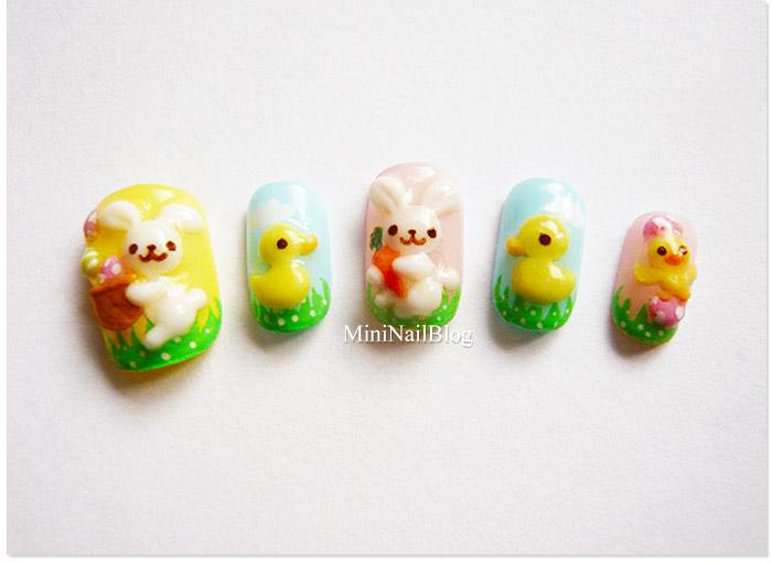 Easter Nails Idea 2011