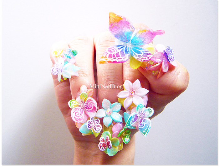 Acrylic 3D Butterflies