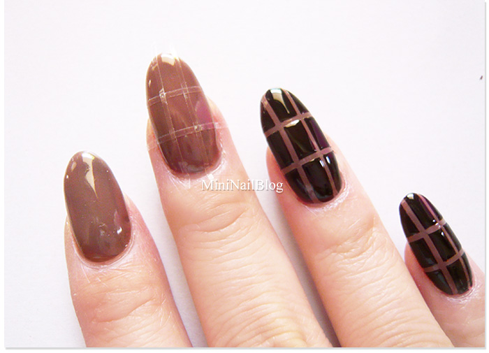 Chocolate Nails Tutorial