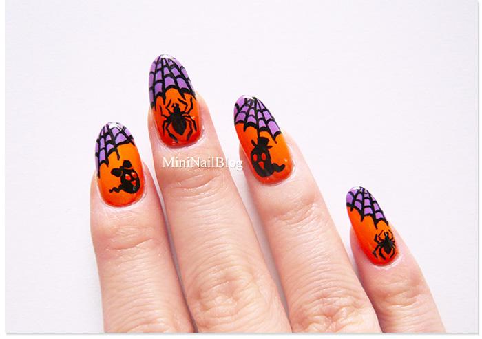 Spiderweb Nail Art