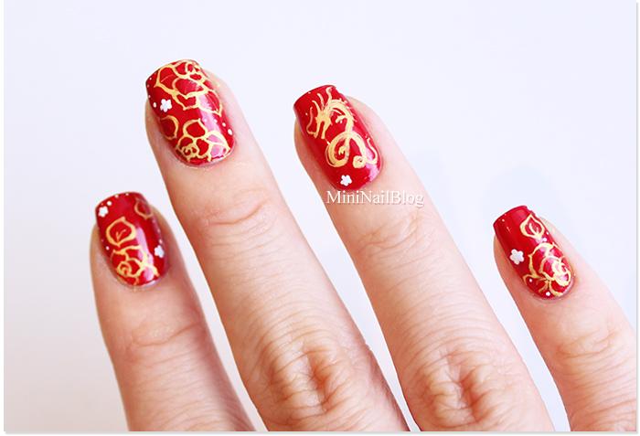 Lunar New Year Nail Art