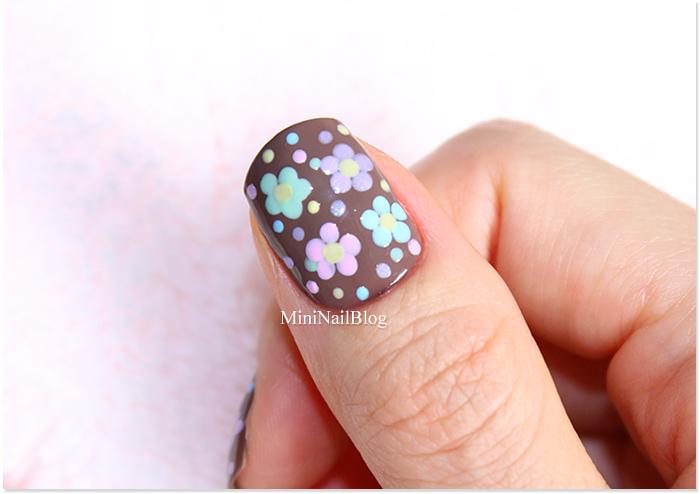 Pastel Flower Dotticure
