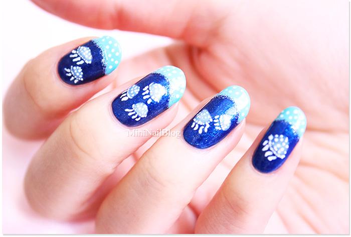 Jellyfish Nail Art