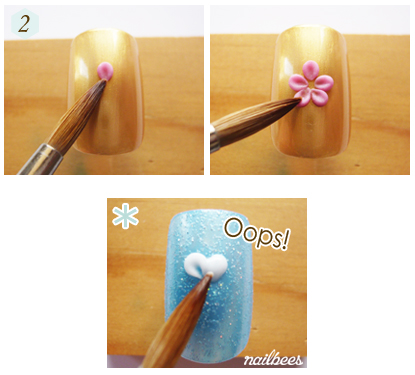 Creating An Acrylic Flower