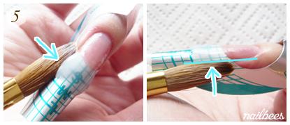 Shape the Acrylic Mixture