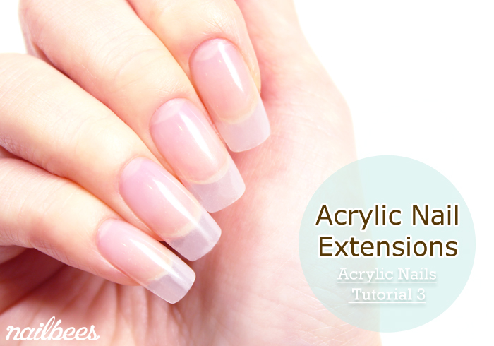 Acrylic Nail Extensions Title