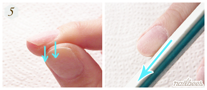 Filing Technique for Acrylic Nails