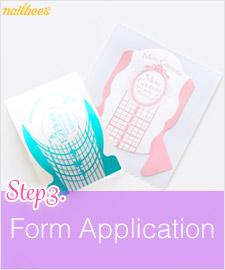 Acrylic Form Application