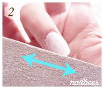 Filing Acrylic Nails