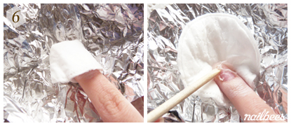 Soaking Acrylic Nails