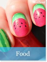 Food Nail Designs