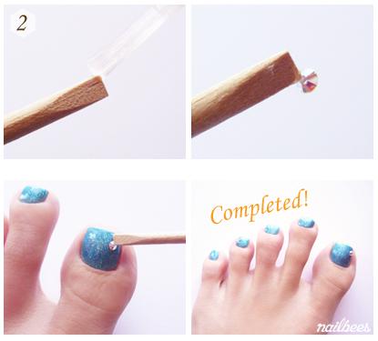 Toe Nail Art Nailbees