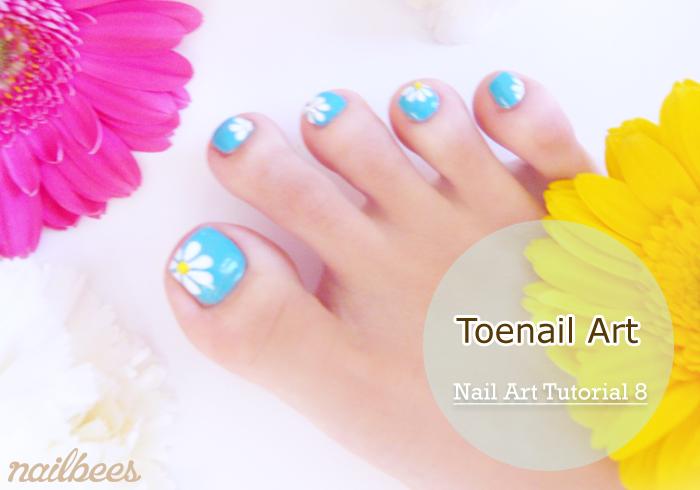 Toe Nail Art Title
