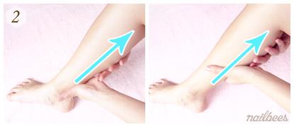 Leg Massage Technique