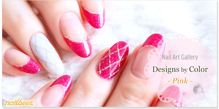 Pink Nail Designs Title