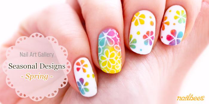 Spring Nail Art Designs