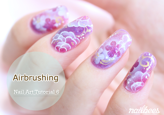 Airbrushing Nailbees