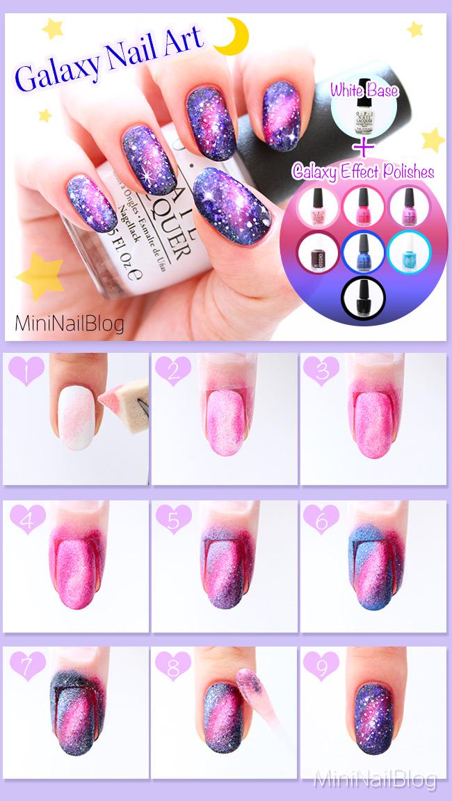 Galaxy Nails Nailbees