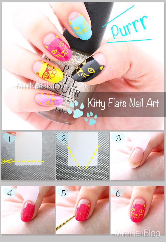 Kitty Flats Nail Art