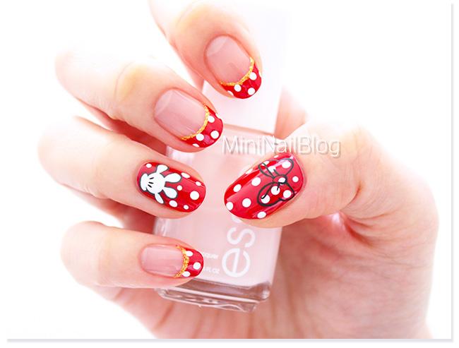 Cute Nail Art Designs Simple Thick 1 Week Nail Polish Clean Nail Art For Round Nails Nail Art I Old What Is A Top Coat Nail Polish RedEssie Nail Polish Nz Minnie Mouse Nail Art | Nailbees