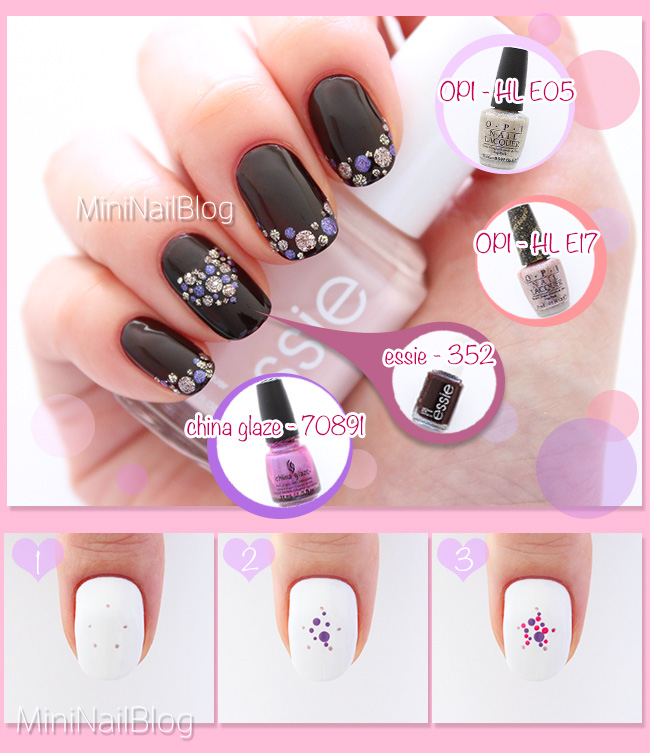 Polka Dot Nails Tutorial