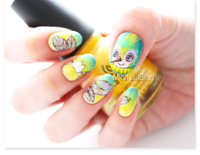 Baby Tooth Nail Art - Baby Tooth Nail Art Nailbees