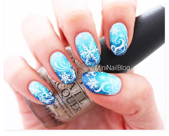 Snowflake Nail Art Nailbees