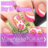 Marimekko Nail Art