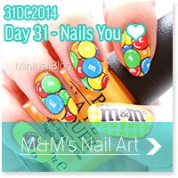 M&M's Nail Art