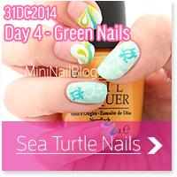 Sea Turtle Nails