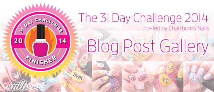 31 Day Challenge 2014
