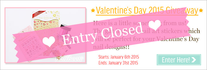 Valentine'sDay Giveaway - Closed