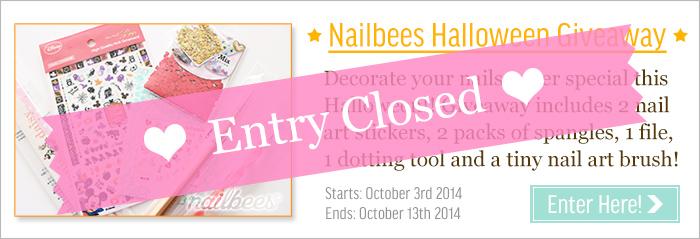 Halloween Nail Giveaway Closed