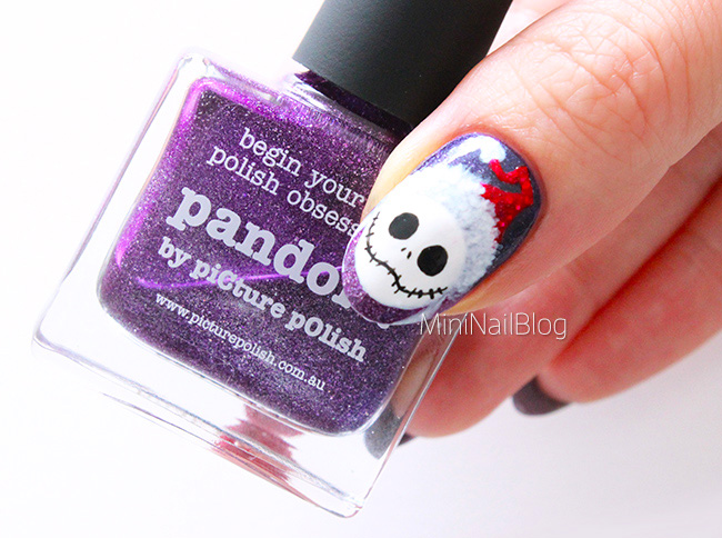 Nightmare Before Christmas Nails Nailbees