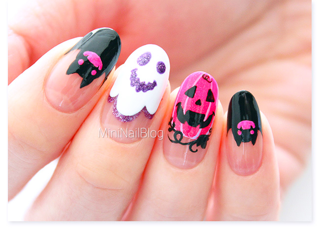 Happy Halloween Nails | nailbees