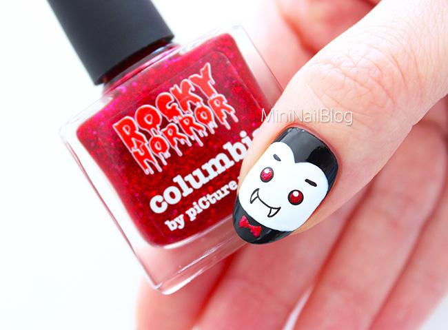 Vampire Nails - Vampire Nail Art Nailbees