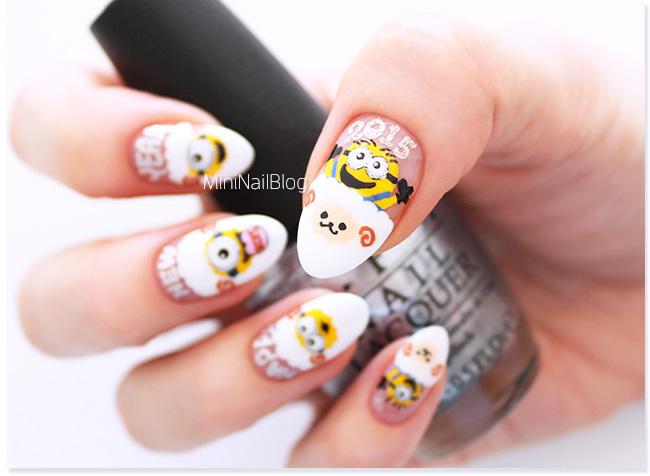Minion Nails 2015