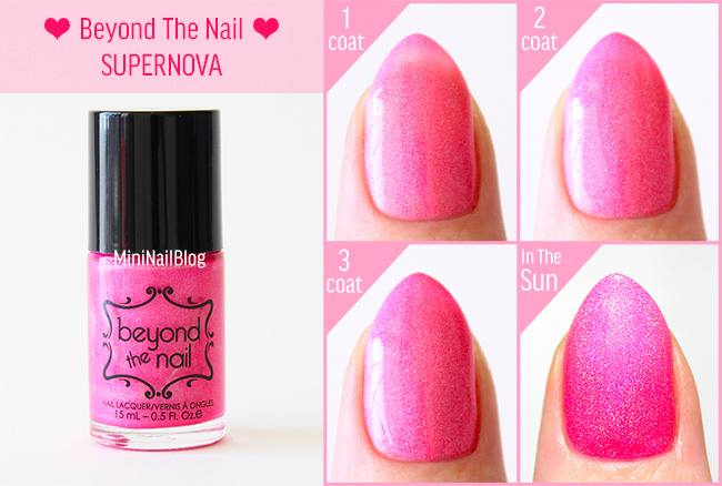 Beyond The Nail Supernova Swatch