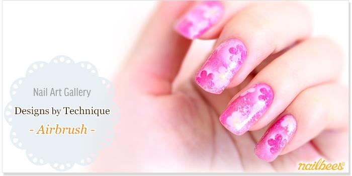 Airbrush Nail Designs Title