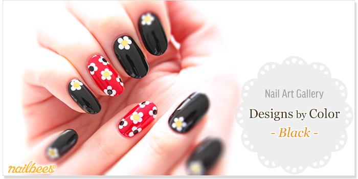 Black Nail Designs Title