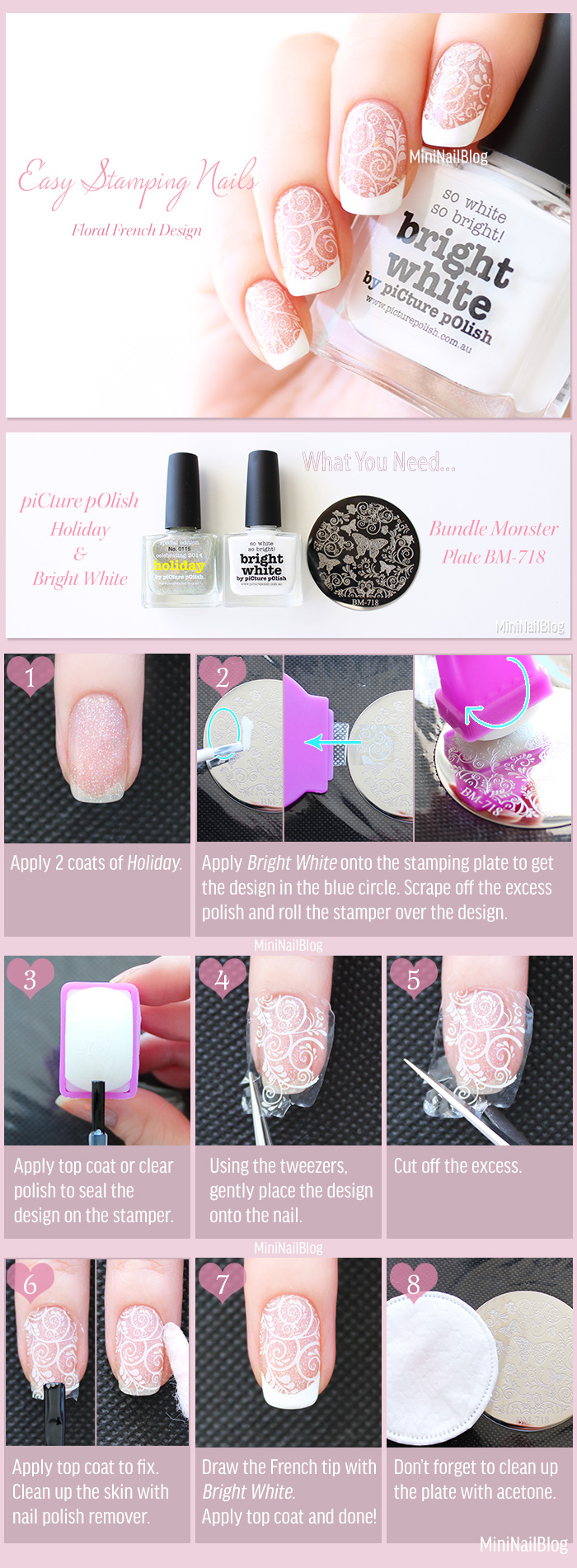 Easy Stamping Nails Tutorial