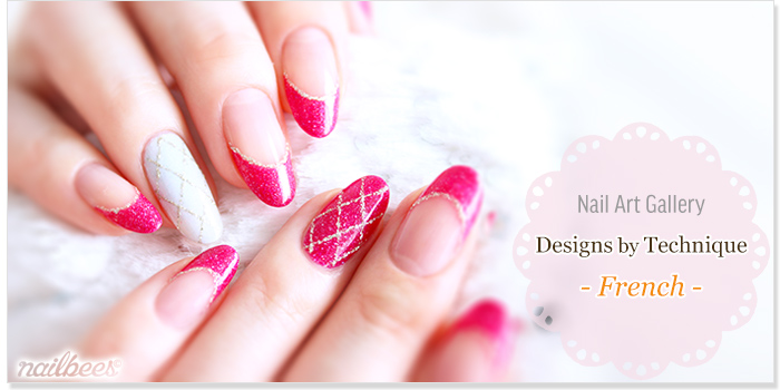 French Nail Designs Title