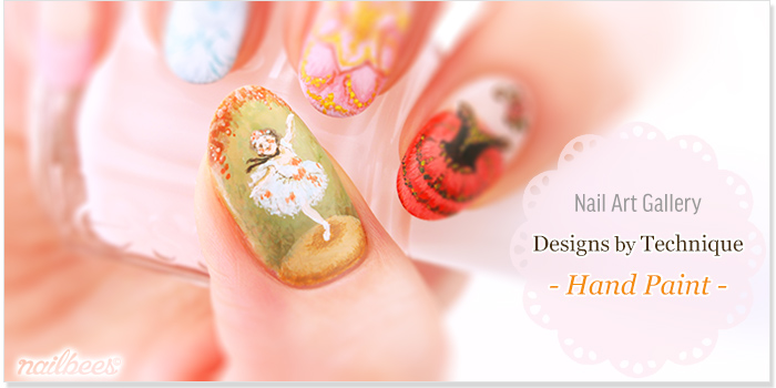 Hand Painted Nail Designs Title