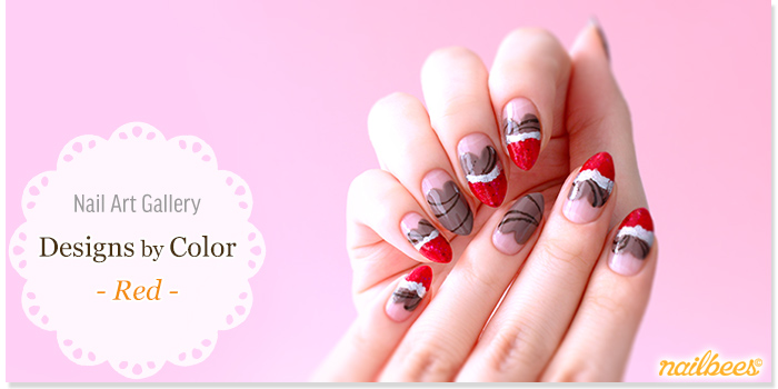 Red Nail Designs Title