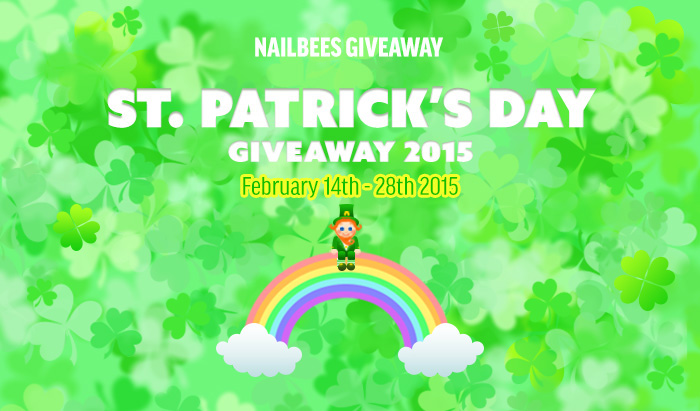 St Patricks Day Giveaway 2015