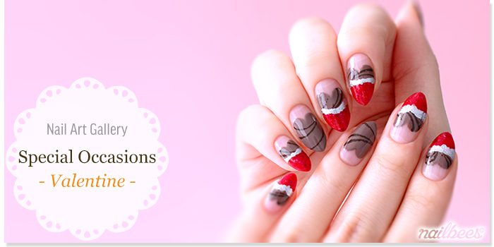 Valentines Nail Designs Title